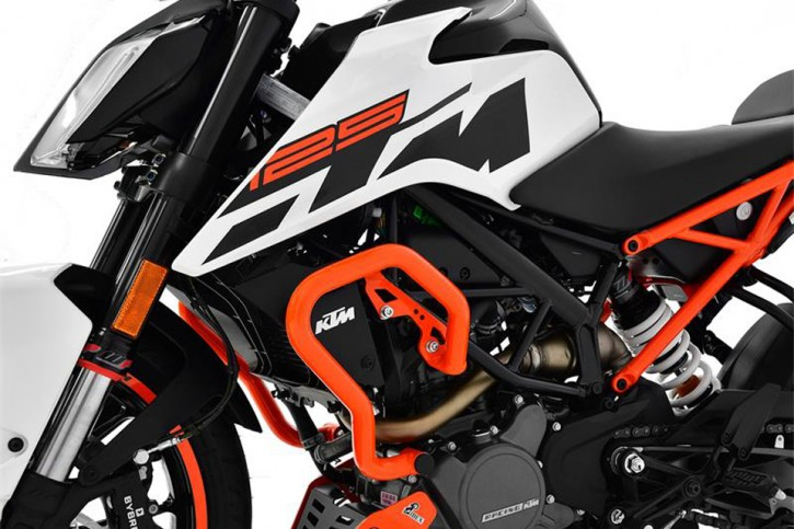 IBEX Sturzbügel KTM 125 Duke BJ 2017 orange