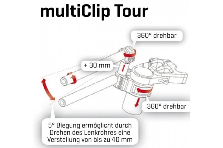 ABM ABM clip-on multiClip Tour 55 mm