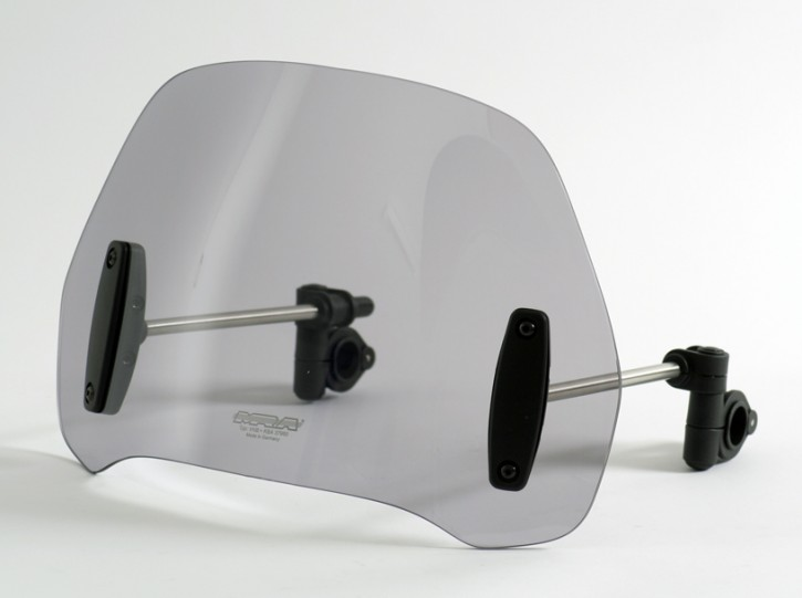 MRA Street Shield, smoke, without mounting set