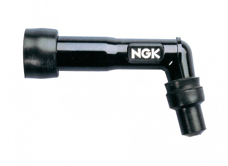 NGK Spark plug connector, XB-05 F, for 14 mm