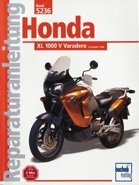 Motorbuch Engine book No. 5236 repair instructions HONDA XL 1000 V, 99-