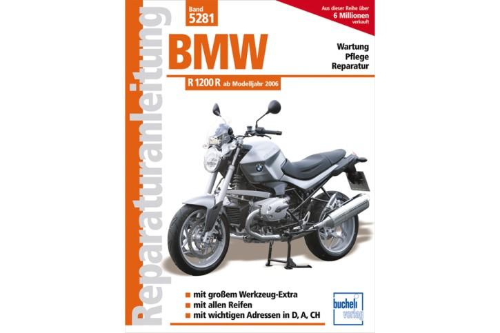 Motorbuch Engine book Repair instructions BMW R 1200 R 2006-, German edition