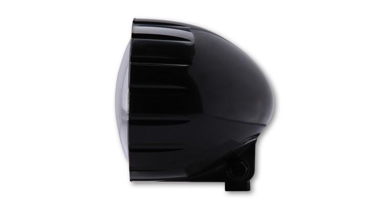 SHIN YO ABS headlight grooved, black