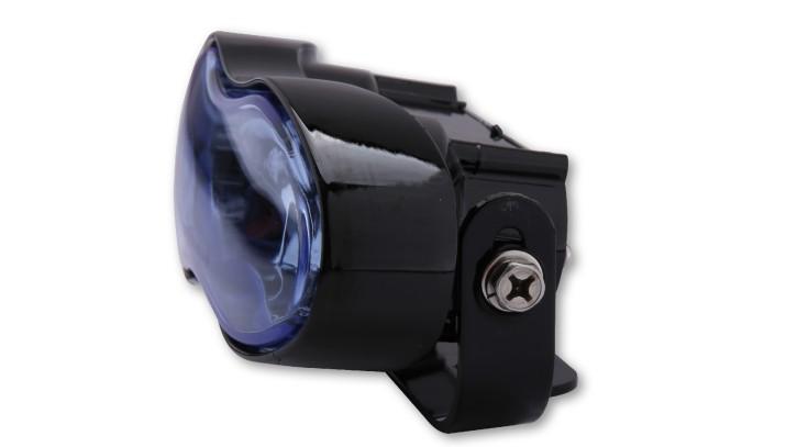 SHIN YO Fern- und Nebelscheinwerfer, schwarz, blaues Glas, 2x H3 55W