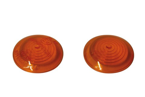 STOCK SALE: SHIN YO Lens for BULLS-Eye, amber, front lens, pair