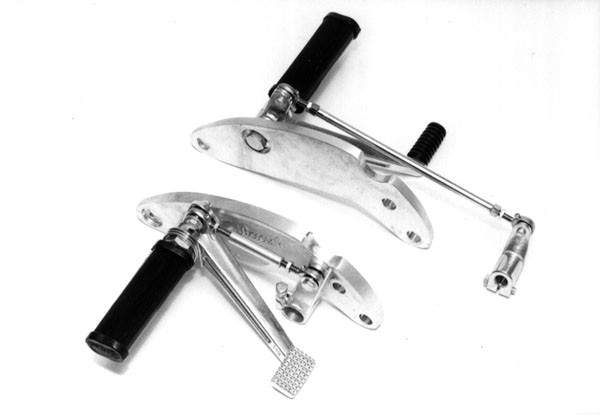 REAR SET Footrests, RAASK, YAMAHA XS 400 app. 1981 – 1982