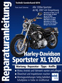 Motorbuch Engine book Repair instructions no. 6014 for H-D Sportster XL 1200 2007 up