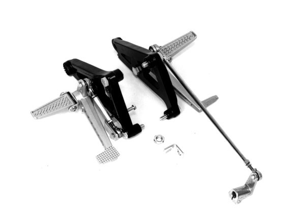 REAR SET Footrests, RAASK, YAMAHA SRX 600 1986 -