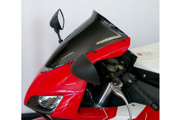 MRA Spoiler shield, HONDA CBR 1000 RR, 04-07, black