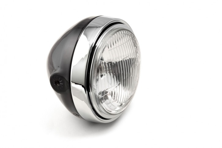 LSL Scrambler Head Light, black/chrome