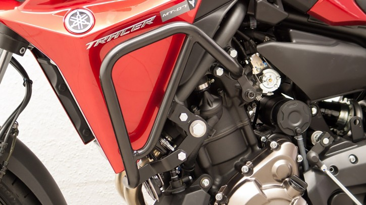 FEHLING Engine Guard Upper, Black, Stable, Yamaha MT-07 Tracer 700, (RM14, RM15) 2014-