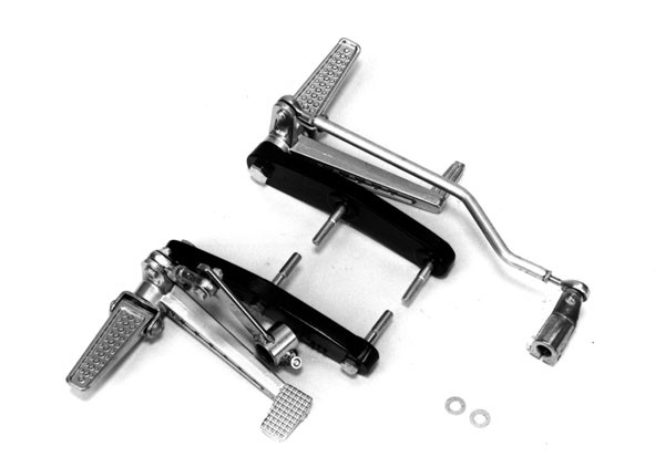 REAR SET Footrests, RAASK, YAMAHA FJ 1200 1991 -