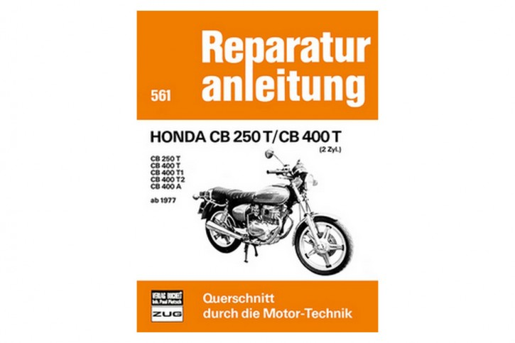 Motorbuch Engine book No. 561, repair instr. HONDA CB 250 T/ CB 400 T