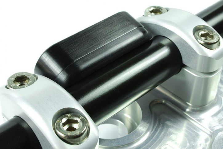 motogadget Msm combi 1 Zoll Lenker Montageplatte, schwarz