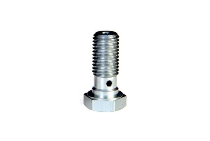 ABM Hollow screw alu M10 x 1,0, silver