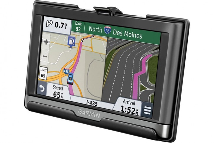 RAM Mounts Device holder for Garmin nüvi 2557LMT / 2577LT / 2597LMT (without protective covers) - Diamond con.