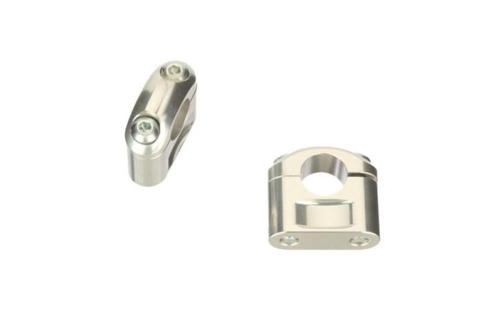 ABM Handle bar riser  Ø22,2 mm, 40 mm, silver