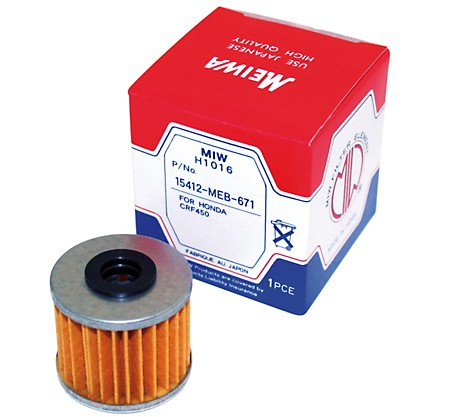 MEIWA oil filter HONDA CRF 150/250/450, TRX 450R
