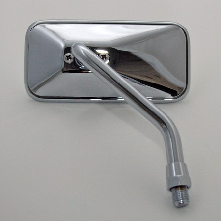 Chopper mirror, rectangular, right