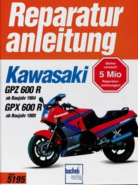 Motorbuch Engine book No. 5195 repair instructions KAWASAKI GPZ 600 R/GPX 600R