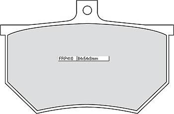 FERODO Disc brake pad FRP 410 P
