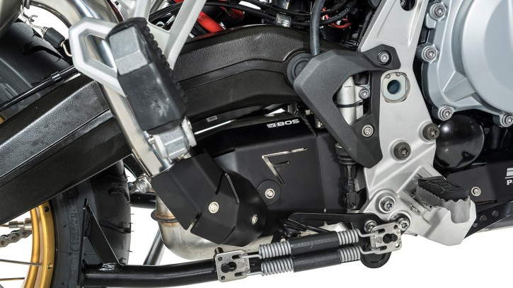 BOS Heat Shield Kit Alu Black BMW F 750 GS / F 850 GS