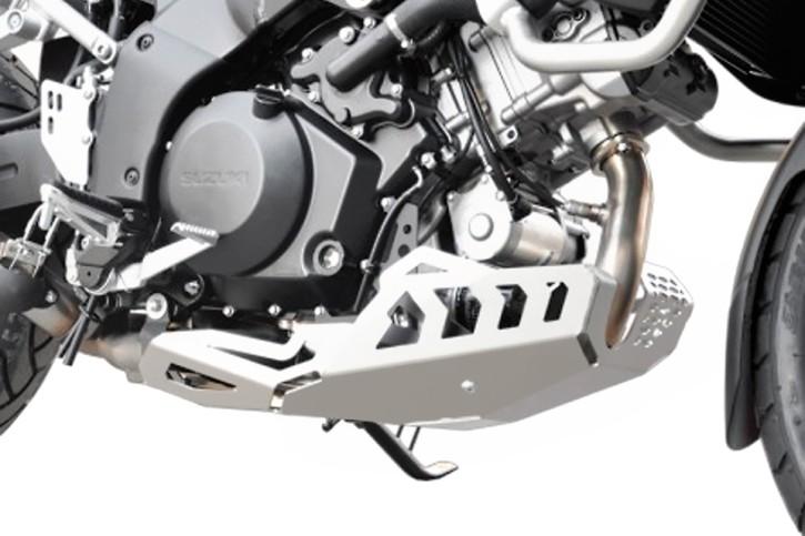 IBEX Engine guard SUZUKI V-Strom 1000 2014- silver