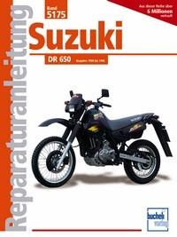 Motorbuch Engine book No. 5175 repair instructions SUZUKI DR 650 (1990-)