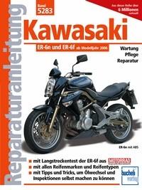 Motorbuch Bd. 5283 Reparatur-Anleitung KAWASAKI ER-6n, 05-