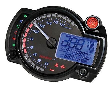 KOSO Digital multifunction cockpit