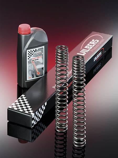 WILBERS Fork springs for HARLEY-DAVIDSON V-Rod VRSCAW, Dyna Wide Glide FXDWG, DUCATI Hypermotard 1100