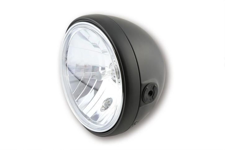 SHIN YO 7 inch headlamp SANTA FE, matte black