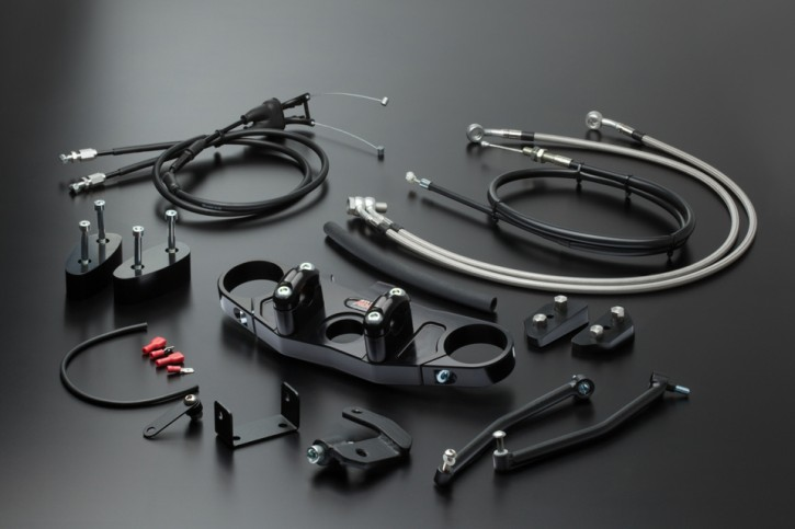 ABM Superbike Kit CBR 900 RR, 00-01, black, black/chrome