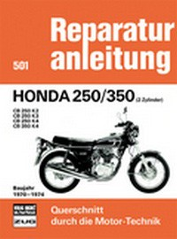 Motorbuch Engine book No. 501 repair instructions HONDA 250/350 Baujahr 70-74