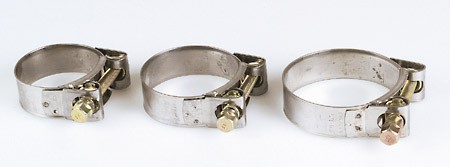 STOCK SALE: IXIL Exhaust clamp stainless steel diam. 55-59mm