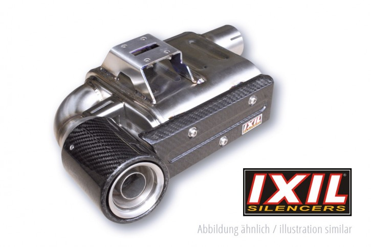 IXIL SX1 stainless steel complete system for KAWASAKI Z 650, 17- (Euro4)