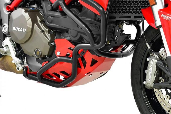 IBEX Engine guard red, DUCATI Multistrada 1200 15-