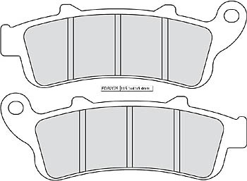 FERODO Disc brake pad FDB 2075 P