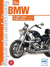Motorbuch Engine book No. 5230 repair instructions BMW1200/850 Cruiser, 97-