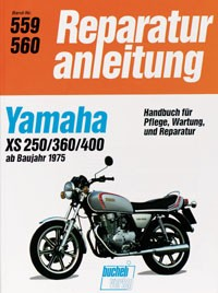 Motorbuch Engine book No. 559 repair instructions YAMAHA XS 250/360/400 (1975-81)