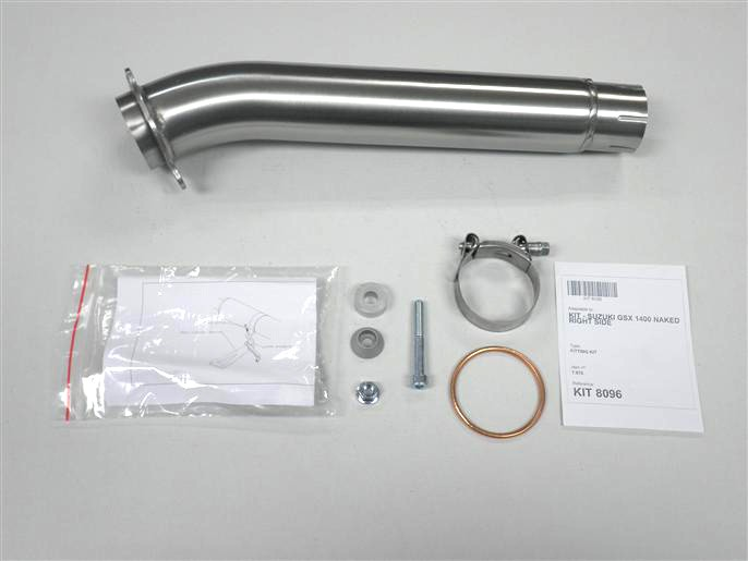 IXIL Adapter tube for GSX 1400 naked, year 01-, right side