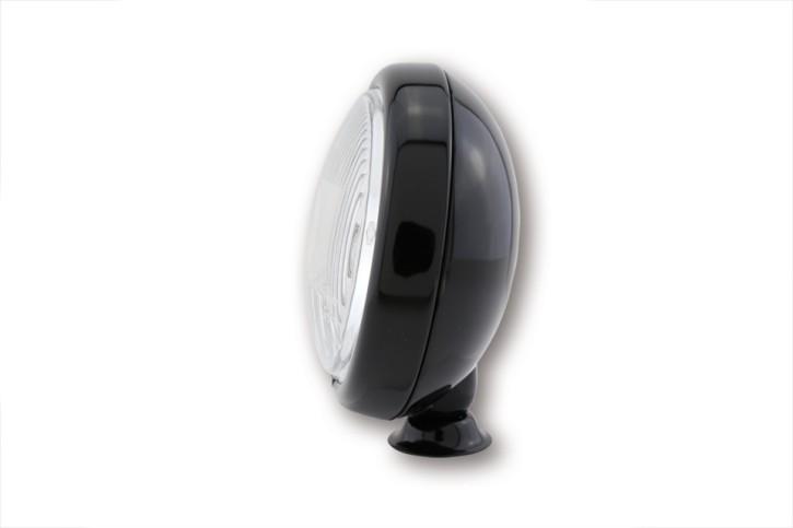 SHIN YO 4 1/2 Zoll Fernscheinwerfer, schwarz glänzend