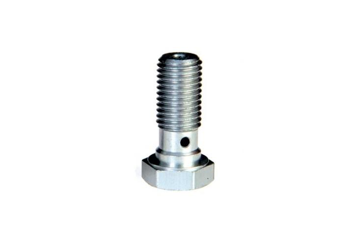 ABM Hollow screw Alu M10 x 1,25, silver