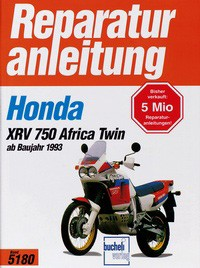 Motorbuch Engine book No. 5180 repair instructions HONDA XRV 750 Africa Twin (1993-)