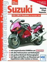 Motorbuch Engine book No. 5273 repair instructions SUZUKI GSX-R1300 Hayabusa, 99-