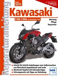Motorbuch Bd. 5311 Reparatur-Anleitung KAWASAKI Z 800 13-