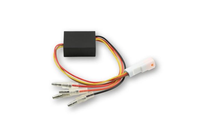 HIGHSIDER Ersatz-Elektronikbox 2 für Rück-, Bremslicht, Blinker BLAZE, Stecker weiß