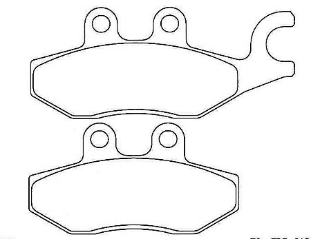 FERODO Disc brake pad FDB 2186 EF