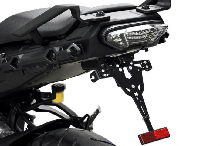 IBEX-Pro License plate holder YAMAHA MT-07 Tracer, 16-
