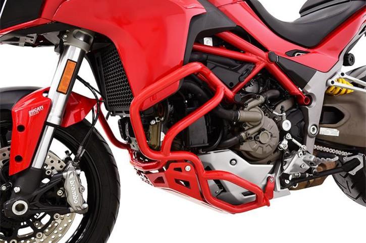 IBEX Crash bar DUCATI Multistrada 1200 (15-) red